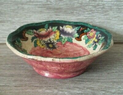 Maling Bowl / Small Dish Design 6151, Z (CHIP TO THE BASE & CRAZING TO GLAZE. • 1.99£