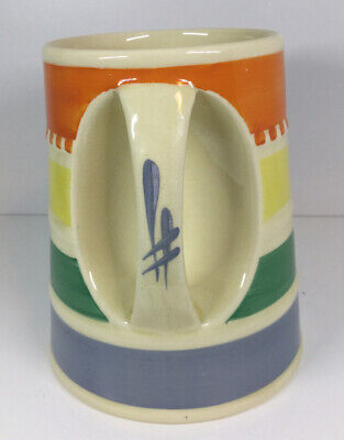 "Susie Cooper ""Banded"" Hand Painted Tankard C. 1932 • 69.99£"