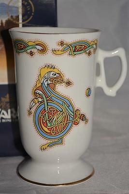 Royal Tara Fine Bone Irish China Book Of Kells: Small Slender Mug • 3.99£