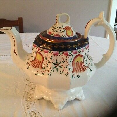 Gaudy Welsh Teapot Good Condition For Age • 26.99£