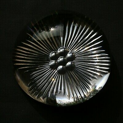 William Yeoward Cut Glass Crystal Paperweight  • 10£