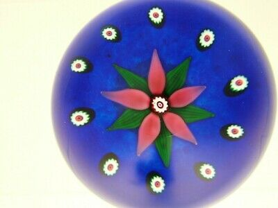Beautiful Selkirk Limited Ed. Miniature Flower Paperweight • 45£