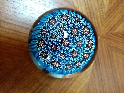 Glass Paperweight Millefiori • 9.99£