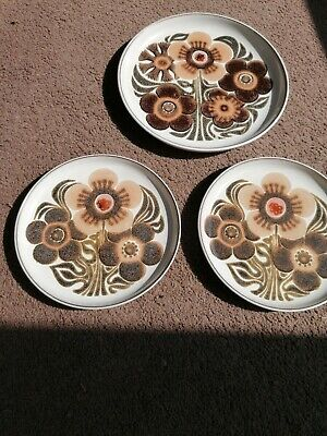 Denby Westbury 2 Salad Plates And 1 Dinner Plate • 4£