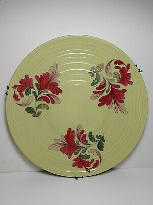 Crown Ducal Charlotte Rhead Tube Lined Charger Plate (Large 36cms Dia) • 49.99£