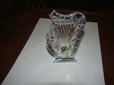 Waterford Crystal Harp Paperweight 5 Inches Tall • 12£