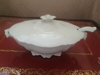 White Grindley Tureen With Ladle  • 4£