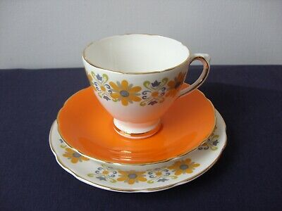 Retro Royal Sutherland Trio Cup Saucer And Plate 1960's - 1970's • 5£