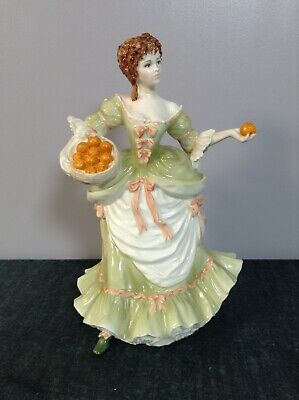 Nell Gwynn Bone China Figurine From Femme Fatales Collection  • 5£