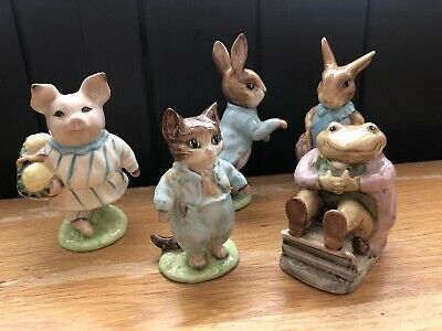 Collection Of Beatrix Potter Beswick Figures  • 14.50£