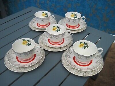 Midwinter Stylecraft Classic Shape. Cups/saucers/side Plates. • 13£