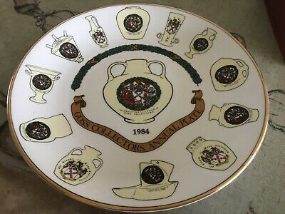 GOSS Collectors Annual Plate 1984 ~ Limited Edition No 238/1000 Mint Condition • 6.90£