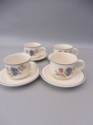 Boots  Dinnerware Camargue  Four Cups & Saucers • 19.99£