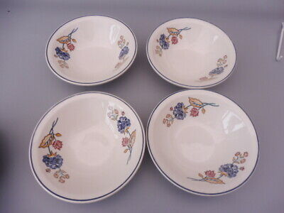 BOOTS  DINNERWARE CAMARGUE  FOUR CEREAL  Or DESSERT BOWLS • 16.99£
