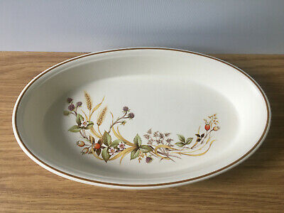 Marks And Spencer M&S Harvest Oval Serving Dish Oven To Tableware • 9.99£