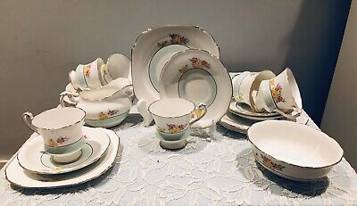 Paragon By Appointment Pattern No. 2453 - 20 Piece Coffee/Tea Set. Art Deco. • 32.50£