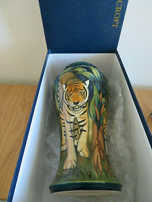 Moorcroft Vase RANTHAMBORE. MINT AND BOXED • 600£