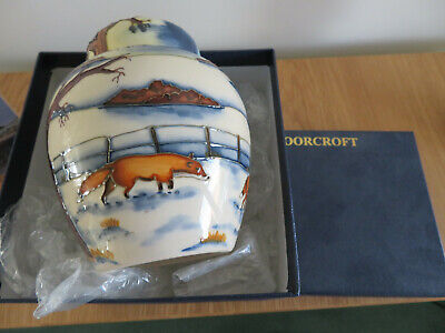 Moorcroft Woodside Farm Ginger Jar. Boxed. • 350£
