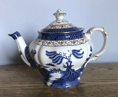 Booths Real Old Willow Teapot A8025. • 42£