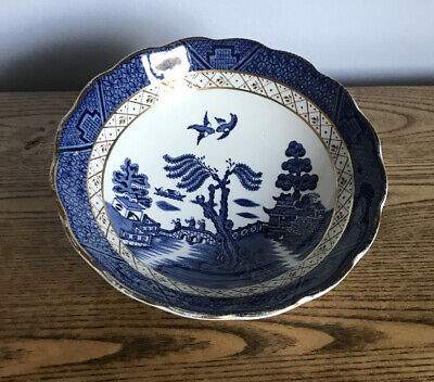 Booths Real Old Willow A8025 Soup Cereal Bowl 16cm • 12£