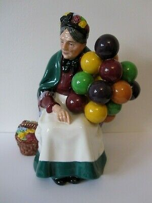 Wonderful Retired Royal Doulton Figurine Entitled The Old Balloon Seller Hn1315 • 18£