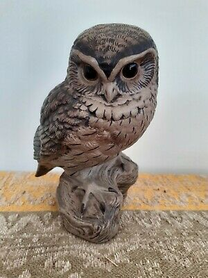Poole Pottery Stoneware Sculpture Of Owl By Barbara Liney-Adams • 10£
