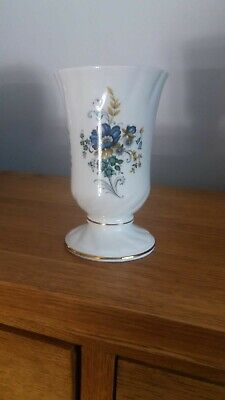 Royal Tara Cornflower 5.5  Tall Footed Cup • 20£