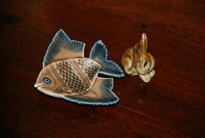 Wade  Whimsie And Fish Dish A/f -  • 0.99£
