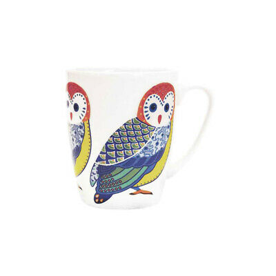 Queens Paradise Birds Owl Fine China 400ml Oak Mug • 10.99£