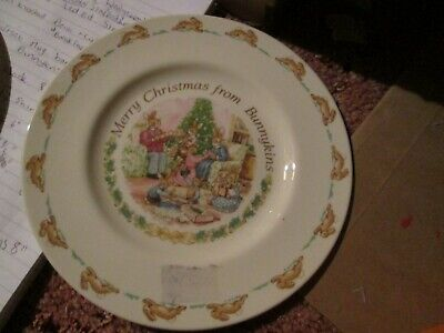 Royal Doulton Merry Christmas From Bunnykins 1993 Plate 8   • 12£