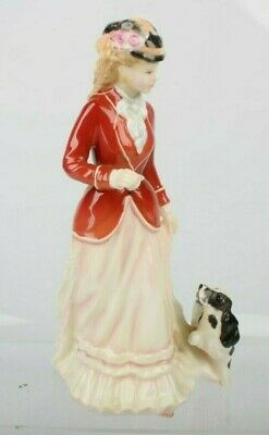 STUNNING Royal Doulton Figurine  SARAH  HN 3384 (Lady With Puppy) • 19.99£