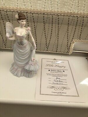 Coalport Femmes Fatales Collection 'Lillie Langtry' Figurine WITH CERTIFICATE • 59.99£