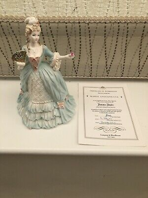 Coalport Femmes Fatales Collection 'Marie Antoinette' Figurine WITH CERTIFICATE • 350£