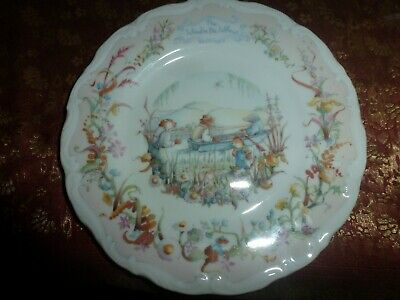 Royal Albert Collector's Plate The Wind In The Willows • 3.50£