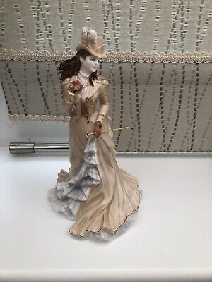 Coalport Helena Riding In Hyde Park Figurine LIMITED EDITION • 80£