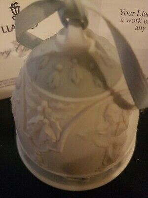 Lladro Christmas Bell. Boxed. 1994 • 8£