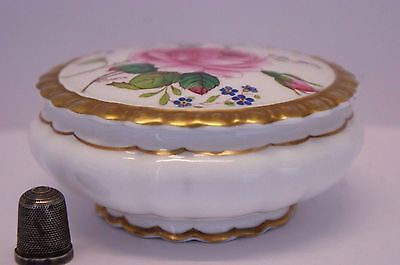 Hand Painted & Signed Coalport  Birbeck Rose  Pattern Pot Signed By W.Birbeck! • 38£
