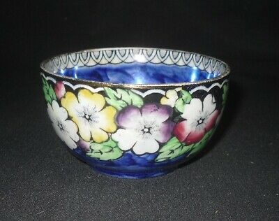 Maling Pottery Art Deco Lustre Small Bowl Flower Decoration • 15£