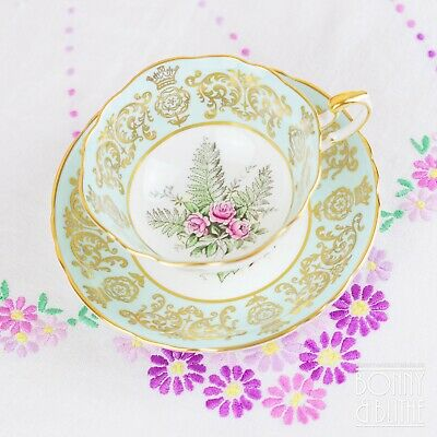 Paragon Queen Elizabeth Coronation 3rd Anniversary Teacup And Saucer • 48£