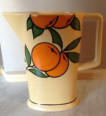 Orange Tree Jug By Wade 6.5 Inches Tall Very Slim. • 6.90£