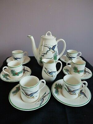 Lovely Plitcha Pottery London 14 Piece Coffee Set. Circa 1950's 60's  • 35£
