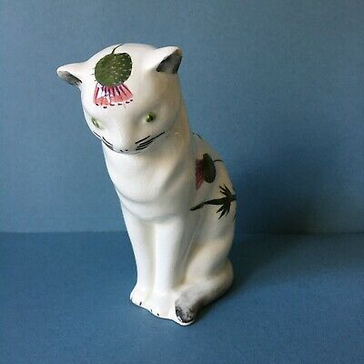 WEMYSS PLICHTA CAT - BOVEY TRACEY - THISTLE DECORATION - 15cm TALL  • 69£
