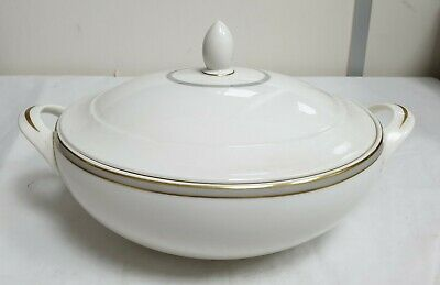 Royal Doulton Fine China Oval Covered Vegetable Tureen Oxford Grey - T.c.1190 • 49.99£