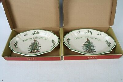 Spode Christmas Tree Tray 28cm X2  • 19.99£
