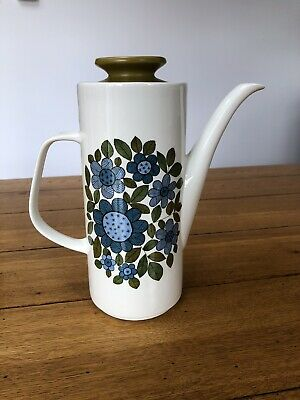 J&G MEAKIN STUDIO Vintage 1960's Topic Coffee Pot 2 Pts Excellent Condition • 15£