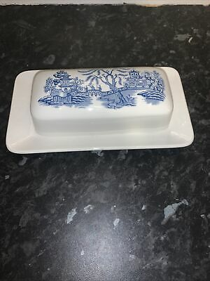J G Meakin Studio Pottery Butter Dish With Top In Good Condition  • 1£