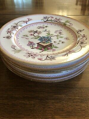 Royal Crown Derby (1887?) Set Of Beautiful Plates • 43£