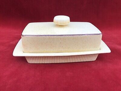 Poole Pottery Broadstone Butter Dish  • 7.99£
