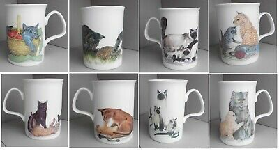 Cat Exclusive Design By Roy Kirkham 1989 K.m.hassall Cup/ Mug Height 4  (10cm)  • 5.99£