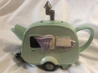 *teapottery Swineside Novelty Collectable Caravan Teapot Great Condtion Boxed • 42£